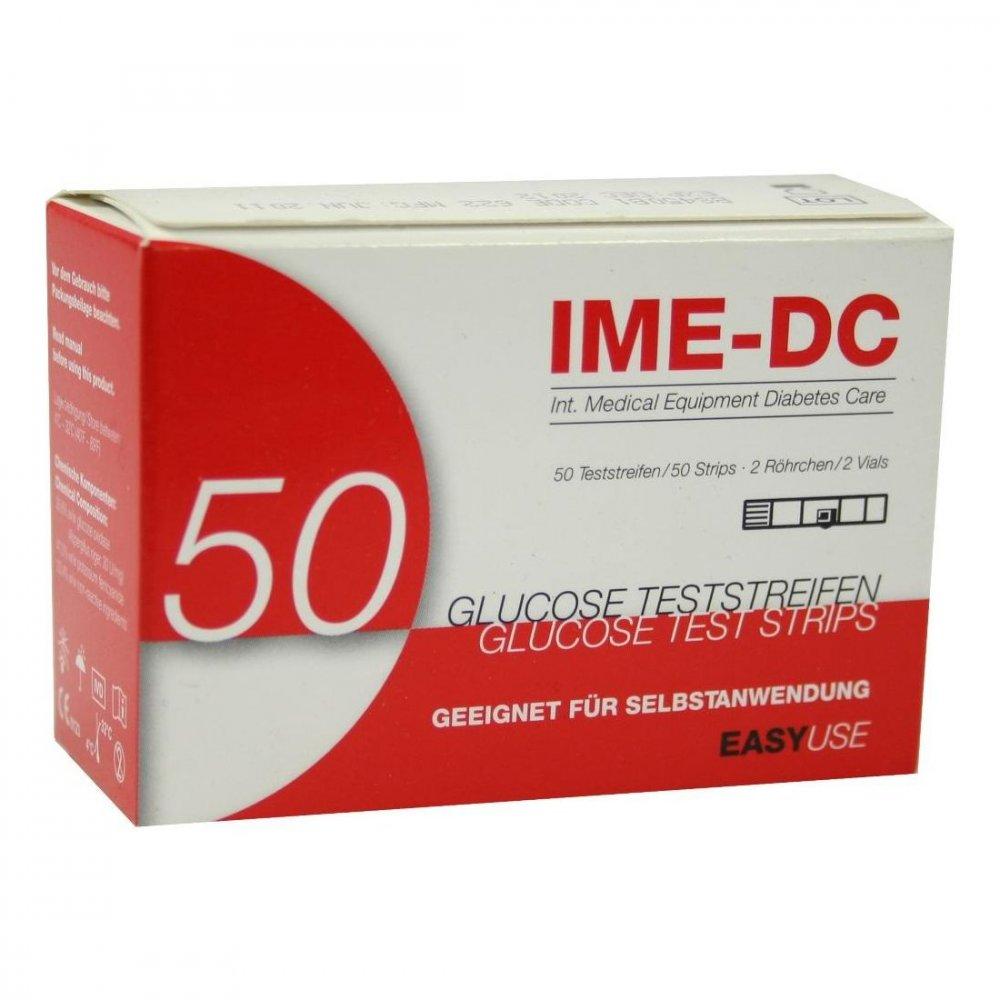 IME-DC GmbH Ime Dc Blutzuckerteststreifen 50 stk 03941430