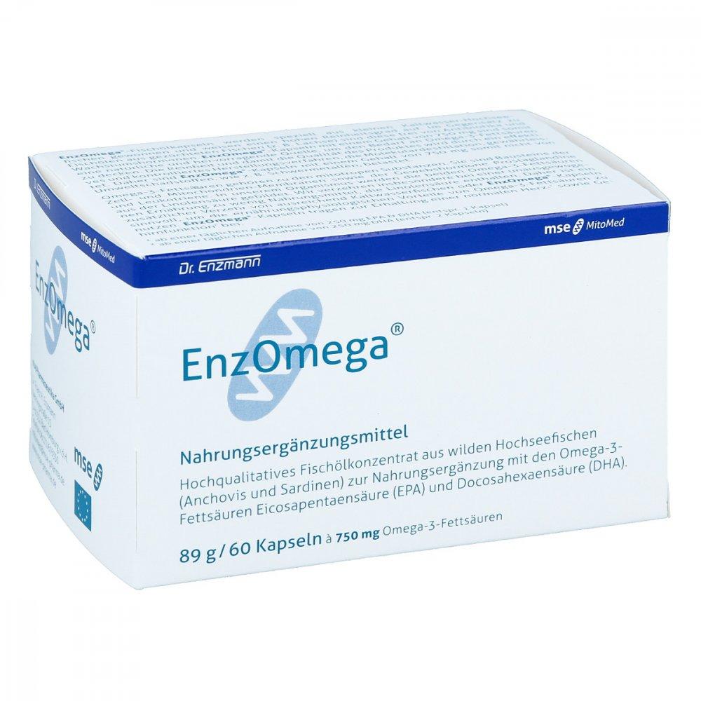 MSE Pharmazeutika GmbH Enzomega Mse Kapseln 60 stk 03960657