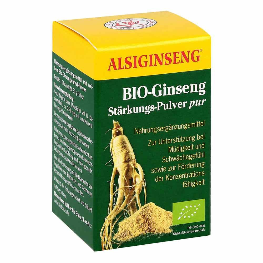 Alsitan GmbH Alsiginseng Stärkungspulver pur 30 g 03980849