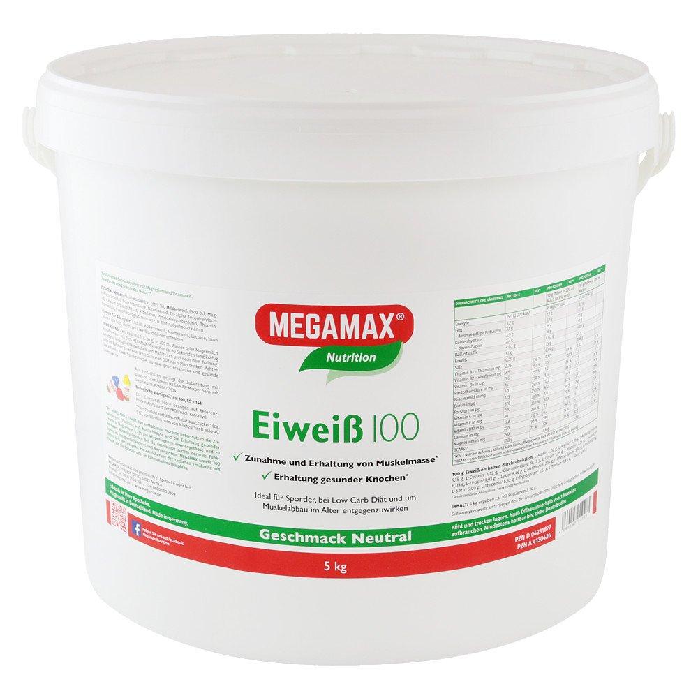 Megamax B.V. Eiweiss 100 Neutral Megamax Pulver 5 kg 04231877