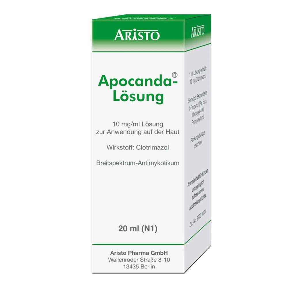 Aristo Pharma GmbH Apocanda 20 ml 04298999