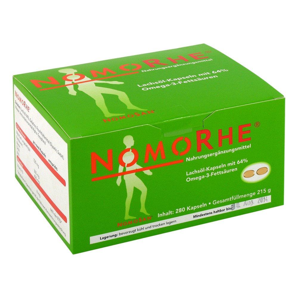 NOMOSAN GmbH Nomorhe Kapseln 280 stk 04475763
