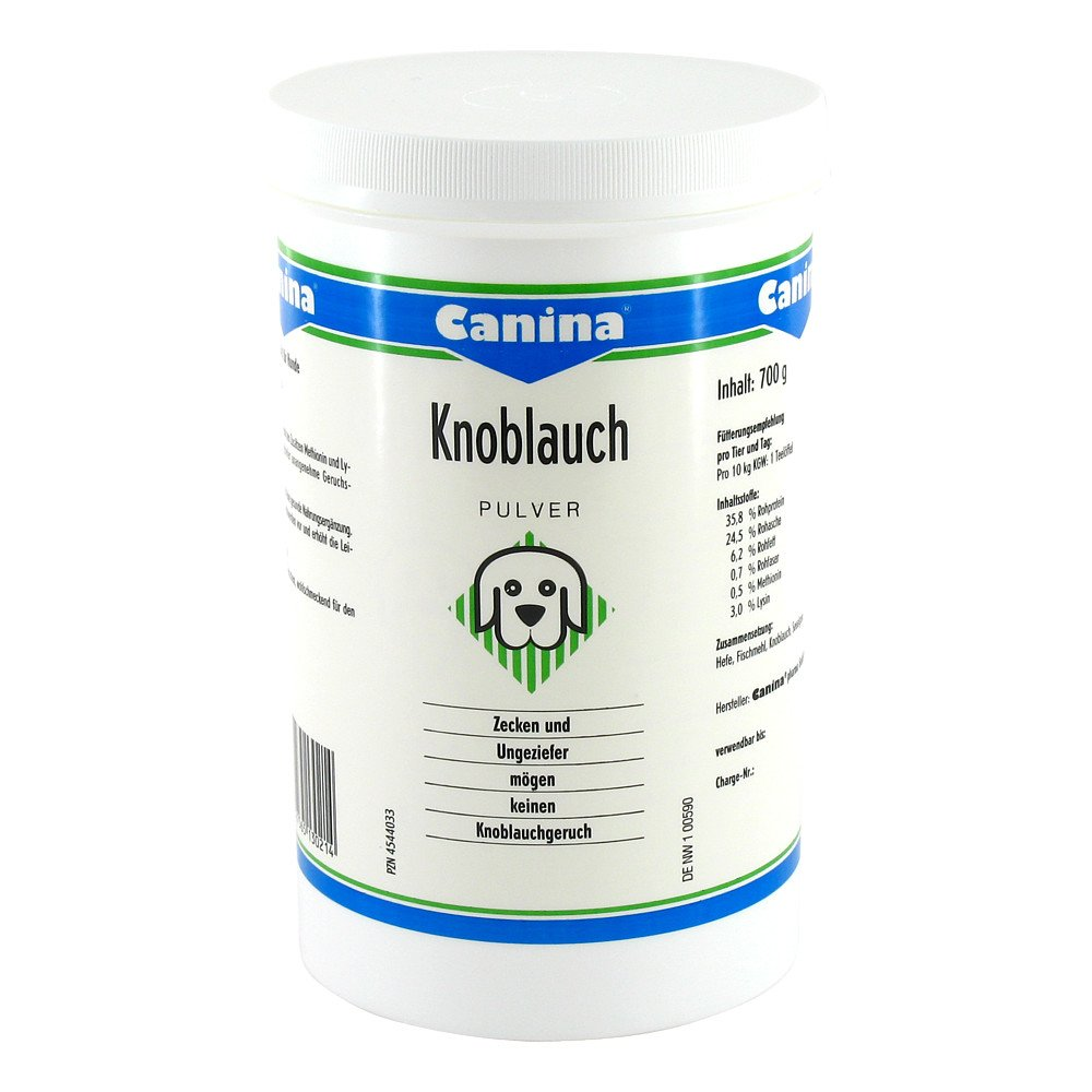 Canina pharma GmbH Canina Knoblauch Pulver für Hunde 700 g 04544033
