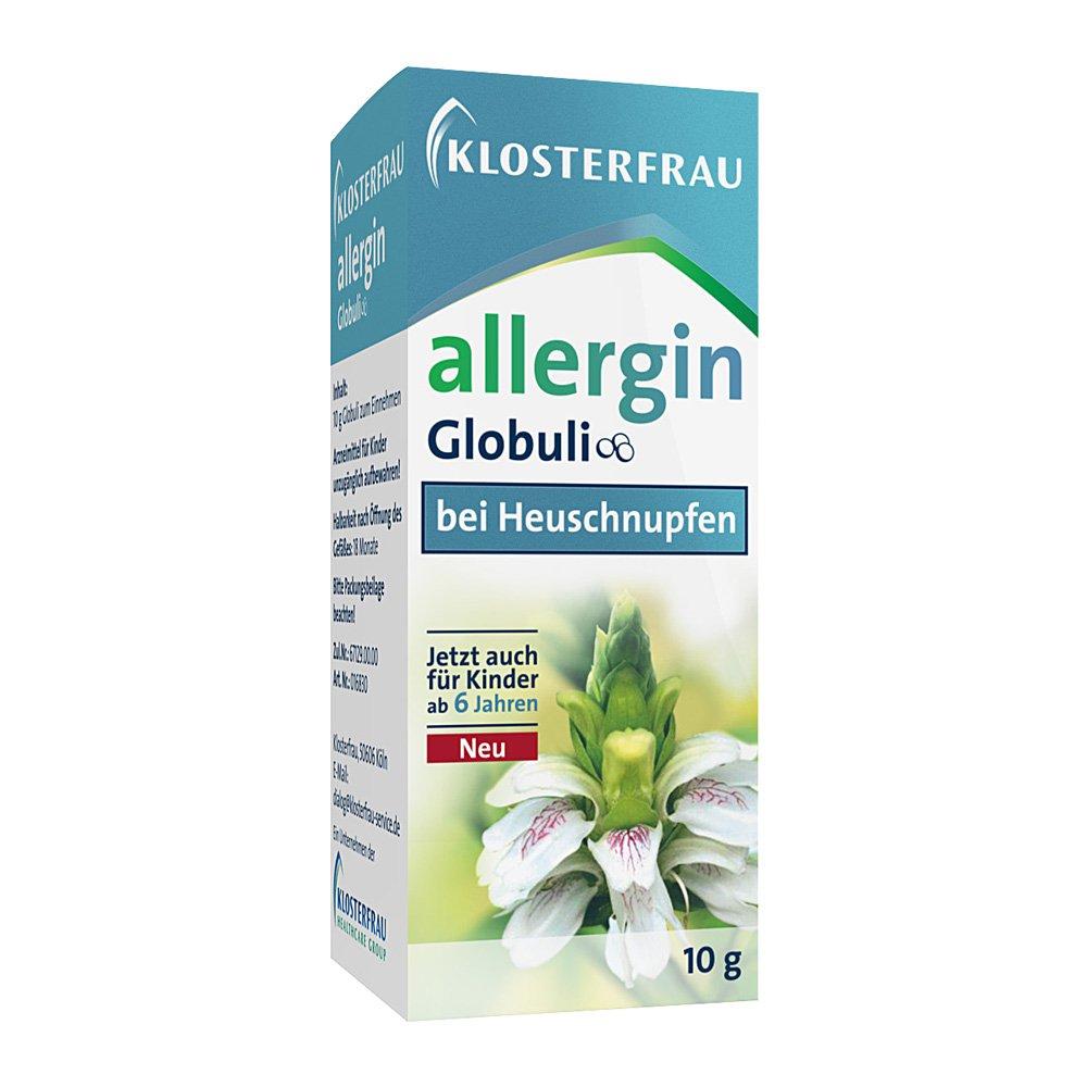 MCM KLOSTERFRAU Vertr. GmbH Klosterfrau Allergin Globuli 10 g 04629775