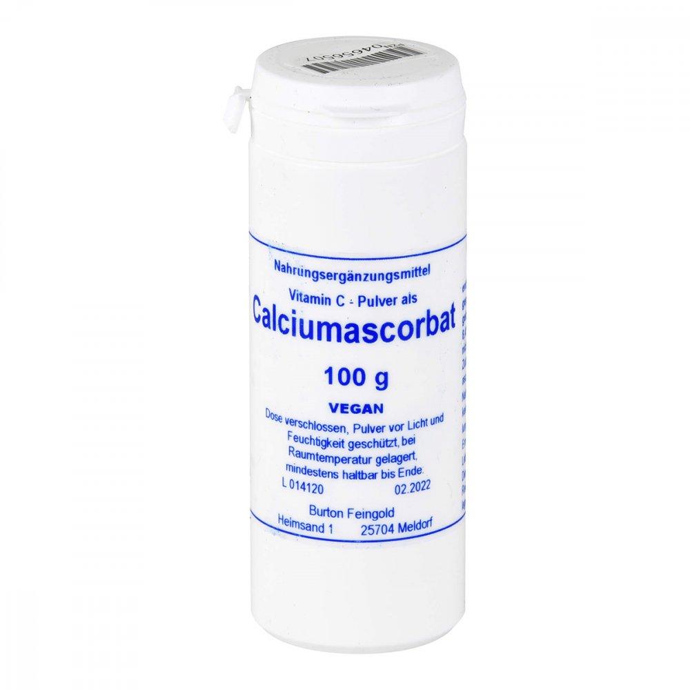 Pharmadrog GmbH Calciumascorbat Feingold Pulver 100 g 04656507