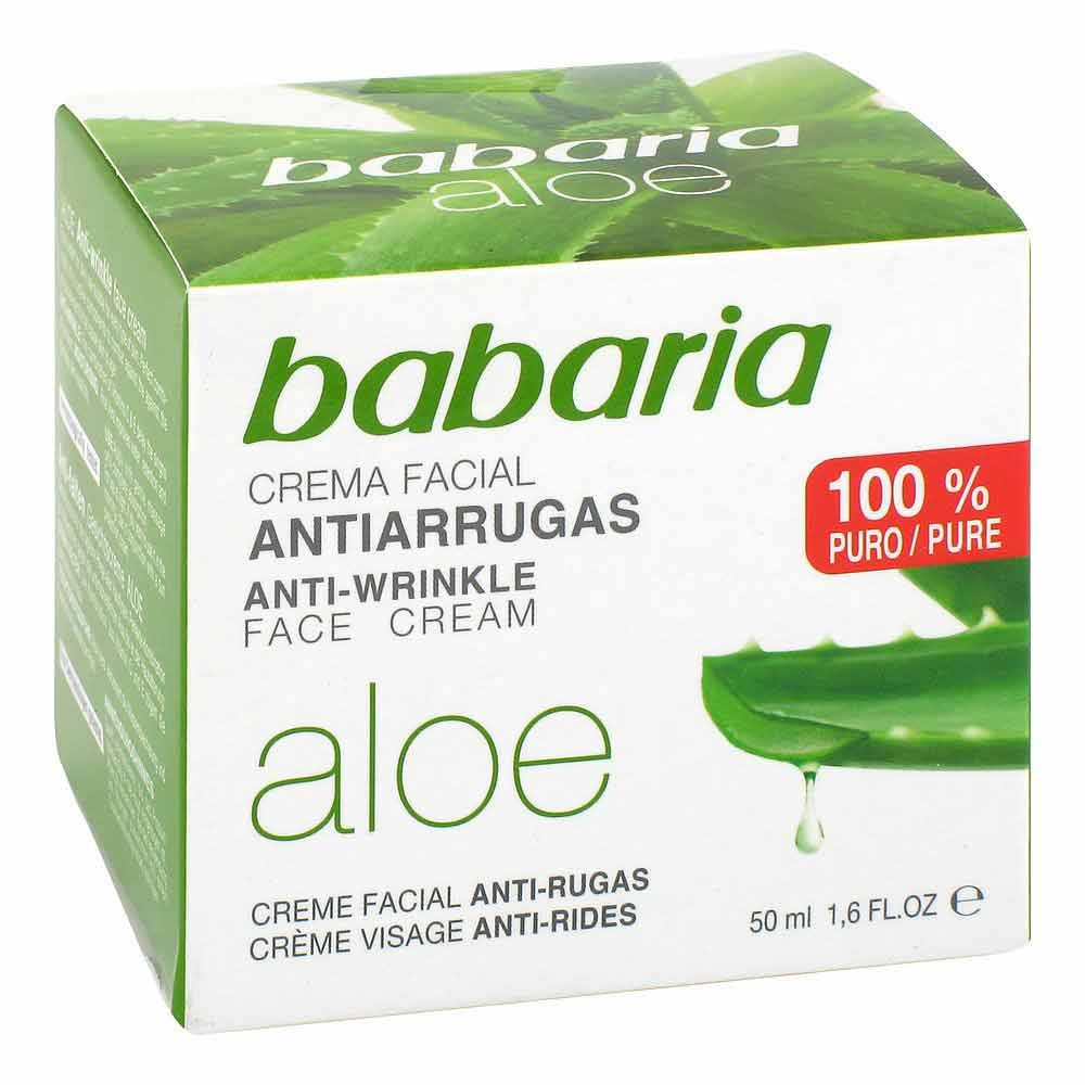 AMOSVITAL GmbH Aloe Vera Anti Falten Gesichtscreme 50 ml 04742738