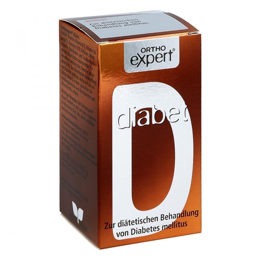 WEBER & WEBER GmbH & Co. KG Orthoexpert diabet Tabletten 60 stk 04757071