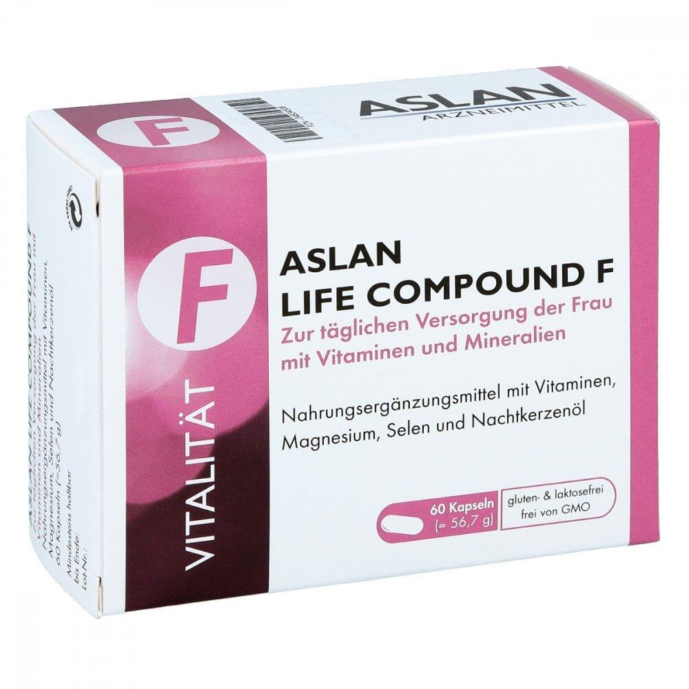Aslan GmbH Aslan Life Compound F Kapseln 60 stk 04834506