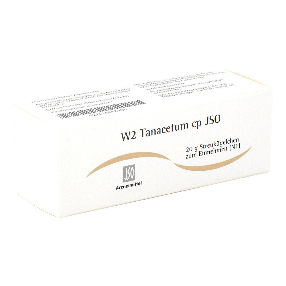 ISO-Arzneimittel GmbH & Co. KG Jso Jkh Darmmittel W 2 Tanacetum cp Globuli 20 g 04942495