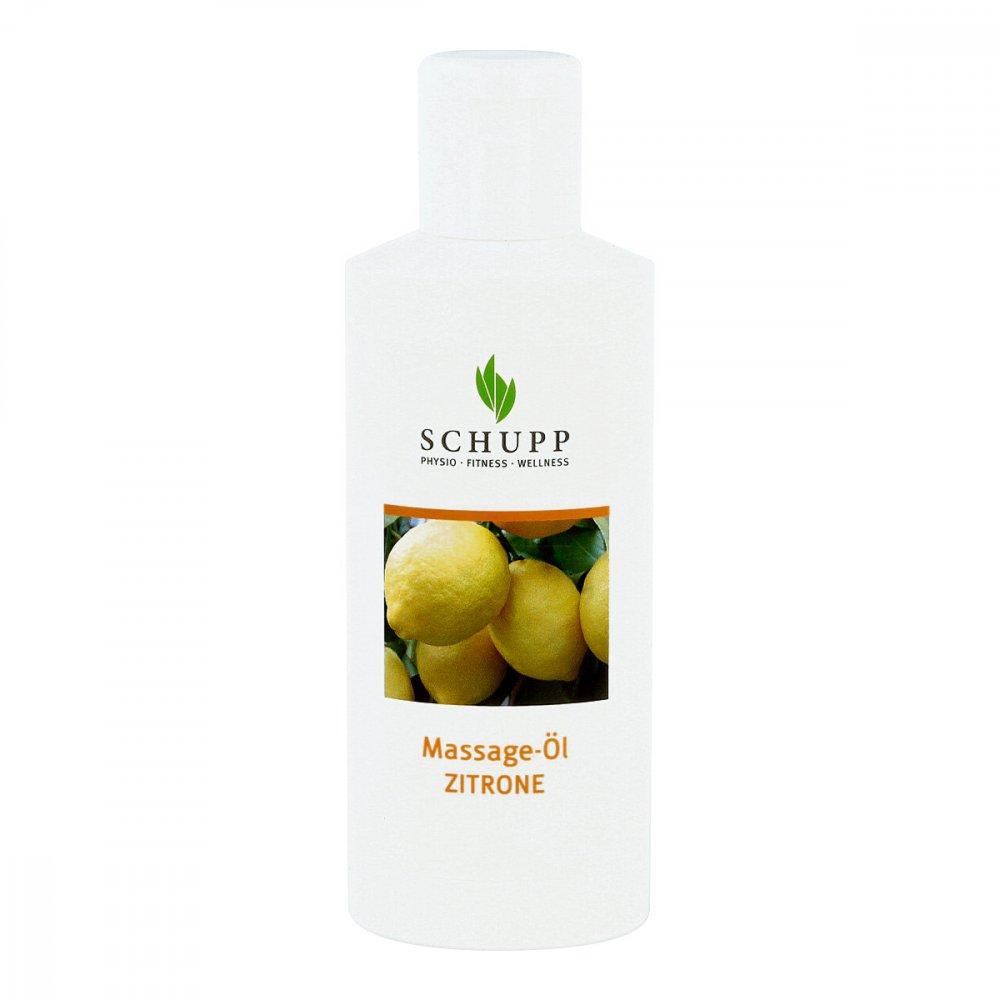 SCHUPP GmbH & Co.KG Massageöl Zitrone 200 ml 04979788