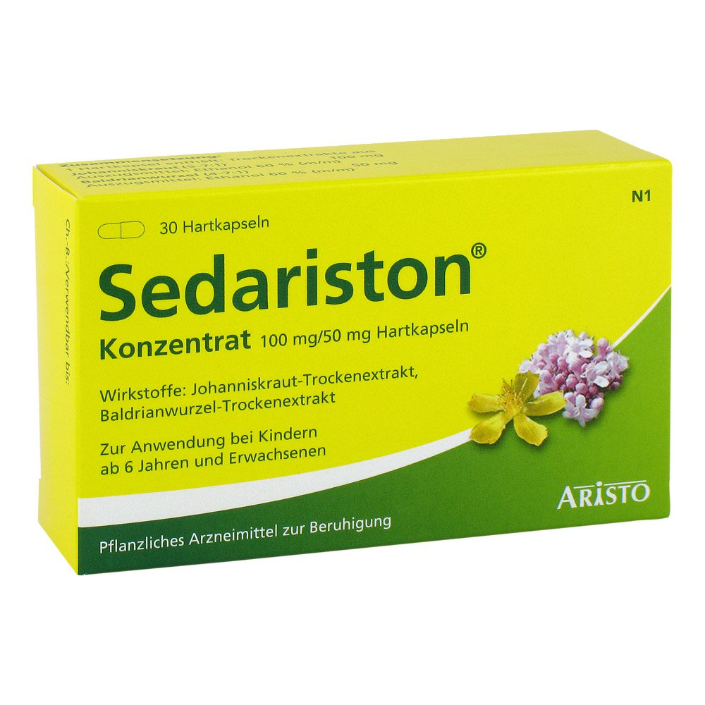 Aristo Pharma GmbH Sedariston Konzentrat 30 stk 04991772
