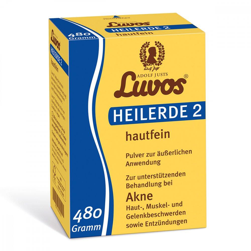 Heilerde-Gesellschaft Luvos Just Luvos Heilerde 2 hautfein 480 g 05039202