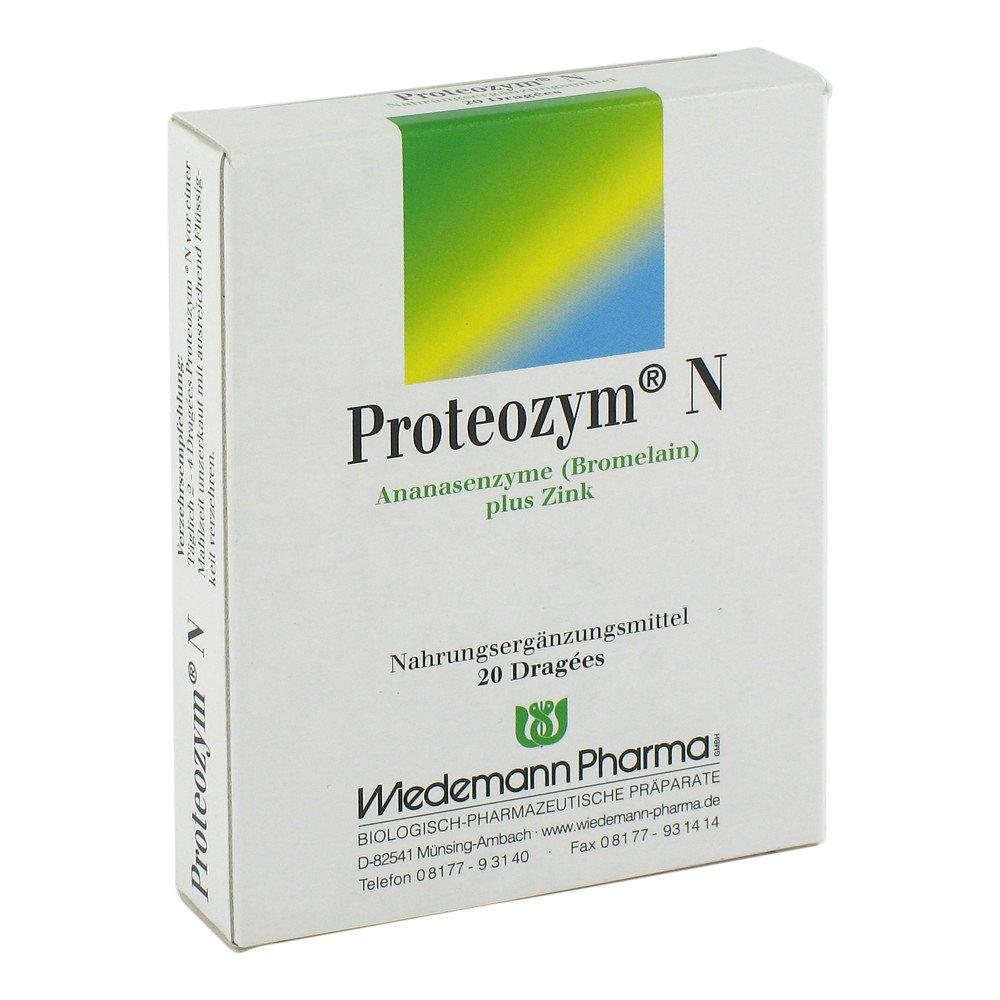 Mauermann Arzneimittel KG Proteozym N Dragees 20 stk 05143135