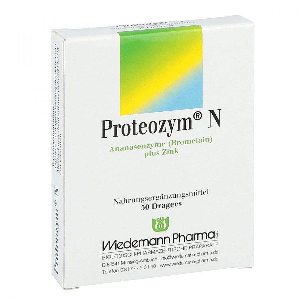 Mauermann Arzneimittel KG Proteozym N Dragees 50 stk 05143141