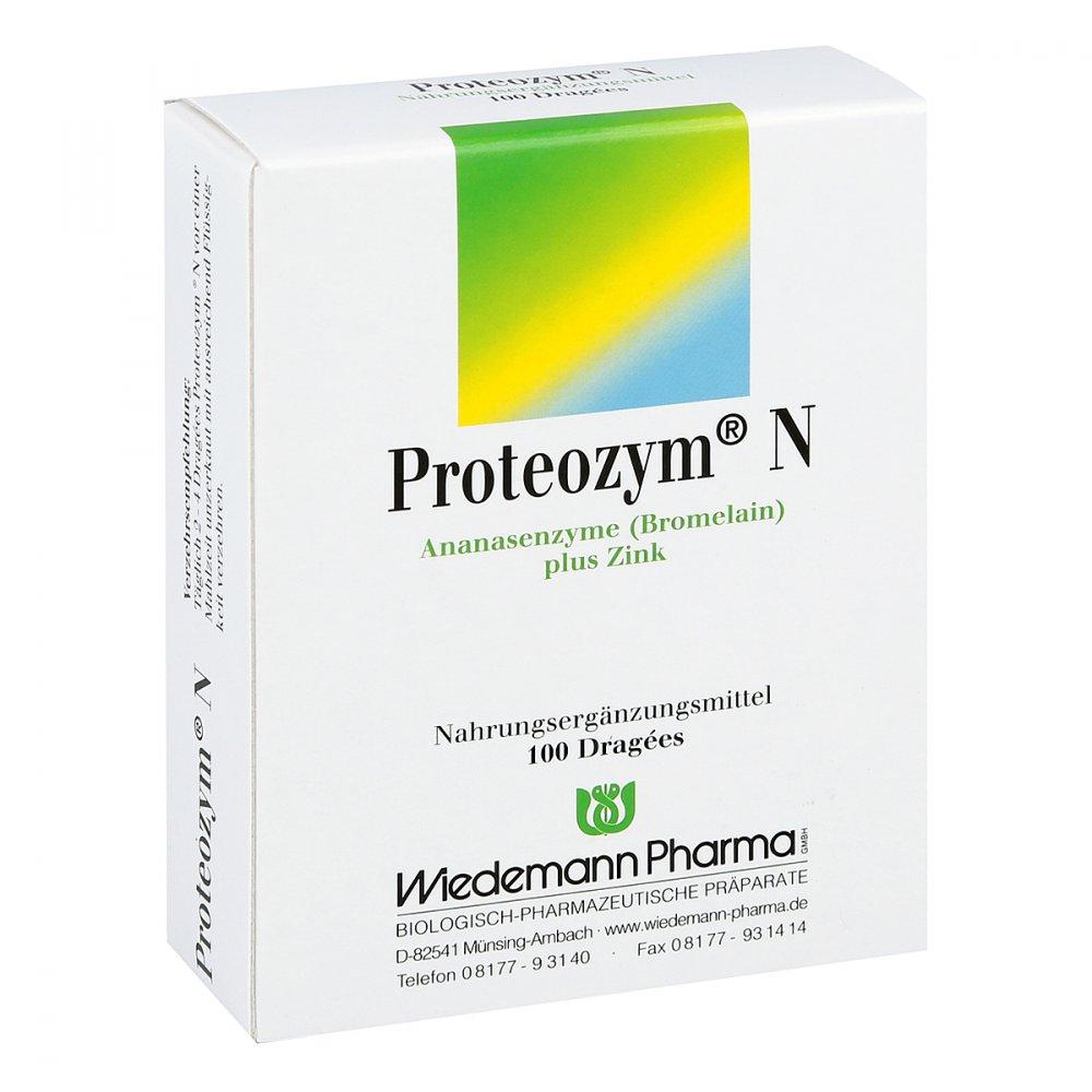 Mauermann Arzneimittel KG Proteozym N Dragees 100 stk 05143158
