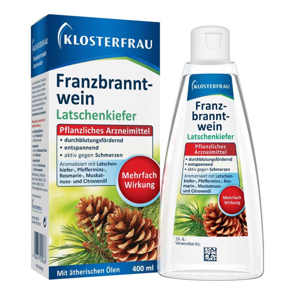 MCM KLOSTERFRAU Vertr. GmbH Klosterfrau Franzbranntwein Latschenkiefer 400 ml 05360826