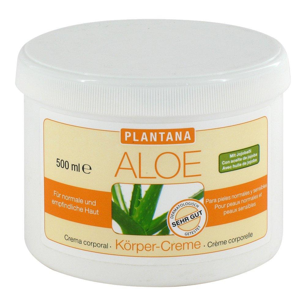 Hager Pharma GmbH Plantana Aloe Vera Körper Creme 500 ml 05375615