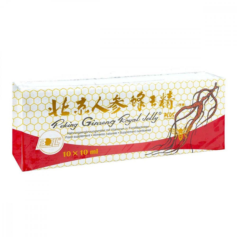 Peking Royal Jelly BOELL Peking Ginseng Royal Jelly Plus Trinkampullen 30X10 ml 05460605