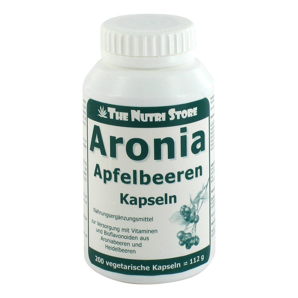 Hirundo Products Aronia Apfelbeeren Kapseln 200 stk 05983993