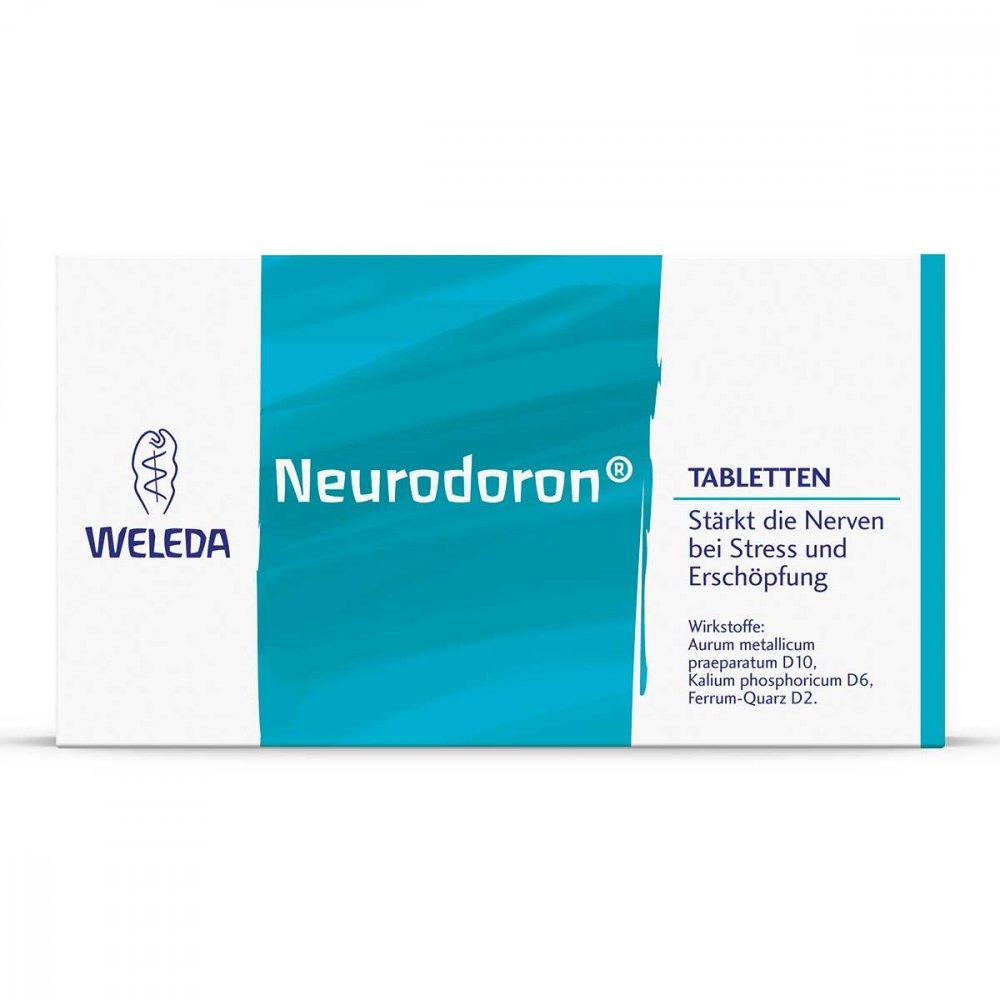 WELEDA AG Neurodoron Tabletten 80 stk 06059276