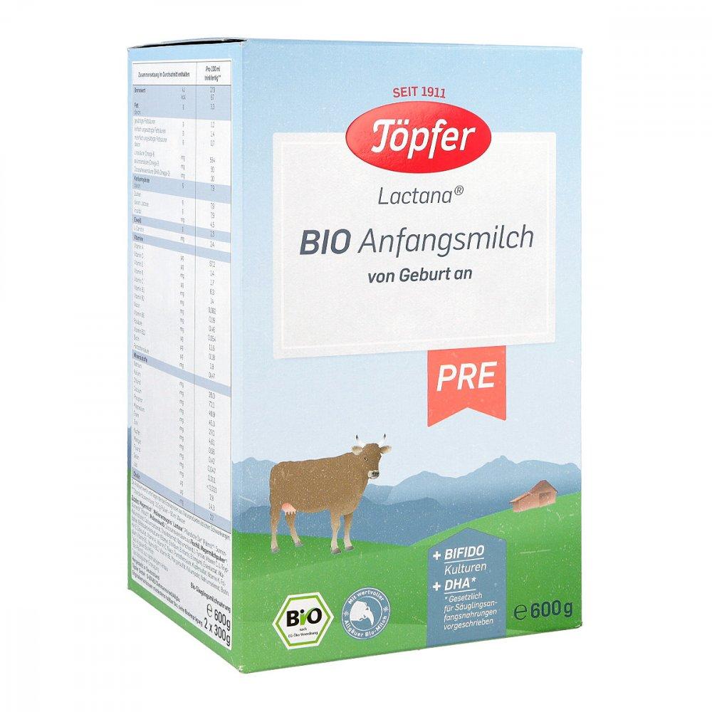 TÖPFER GmbH Töpfer Lactana Bio Pre Pulver 600 g 06081873