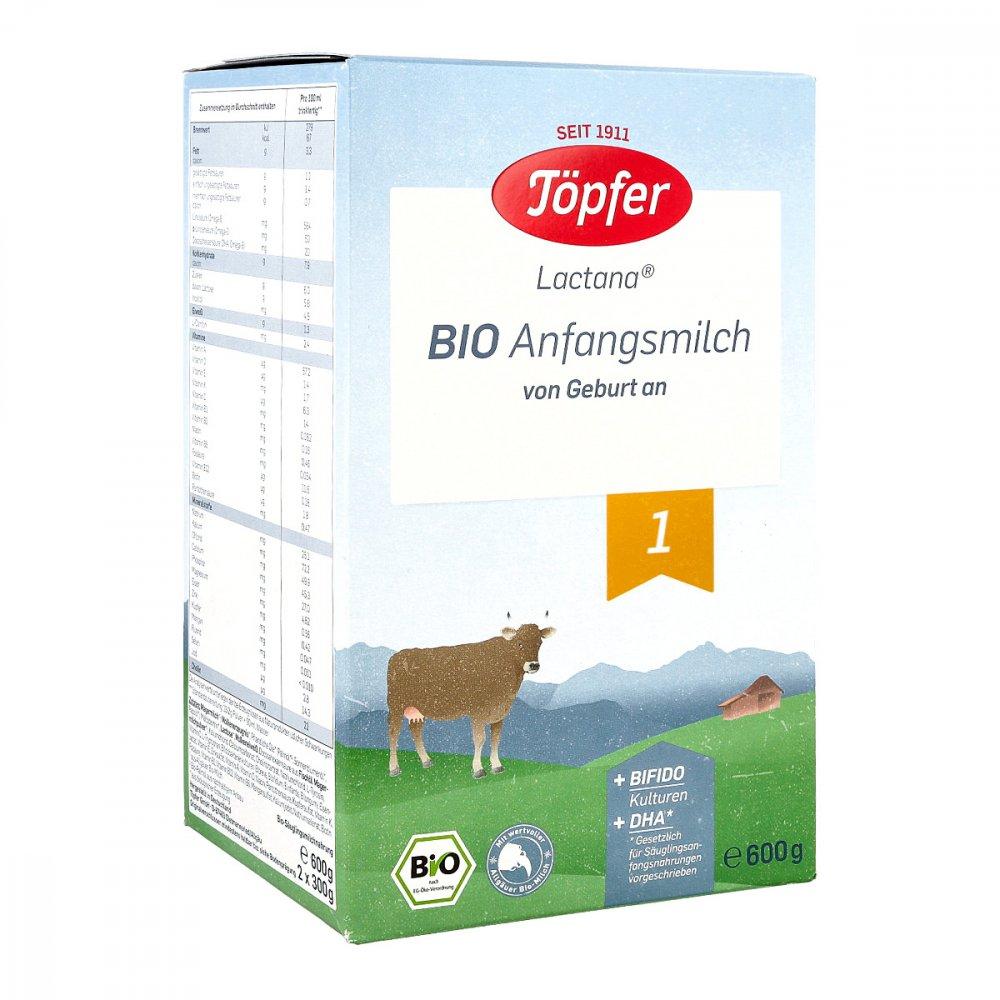 TÖPFER GmbH Töpfer Lactana Bio 1 Pulver 600 g 06081896