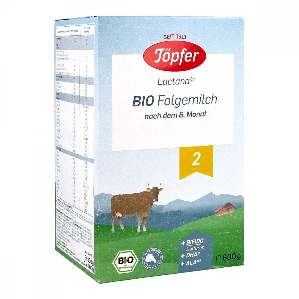 TÖPFER GmbH Töpfer Lactana Bio 2 Pulver 600 g 06081910