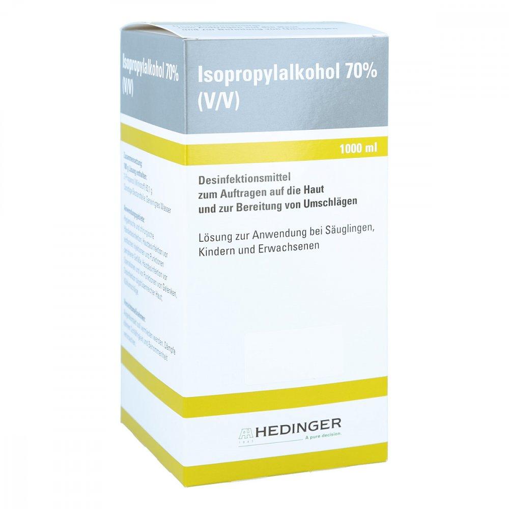 Aug. Hedinger GmbH & Co. KG Isopropylalkohol 70% Hedinger 1000 ml 06426409