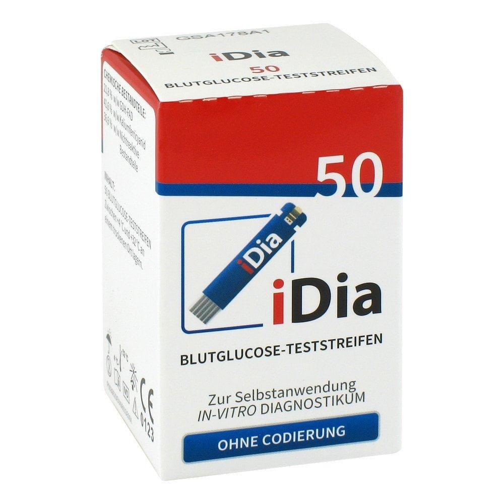 IME-DC GmbH Ime Dc iDia Blutzuckerteststreifen 50 stk 06426496