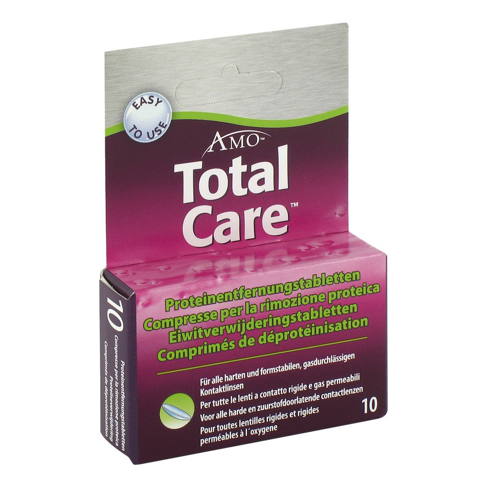 AMO Germany GmbH Totalcare Proteinentfernungs Tabletten 10 stk 06642254