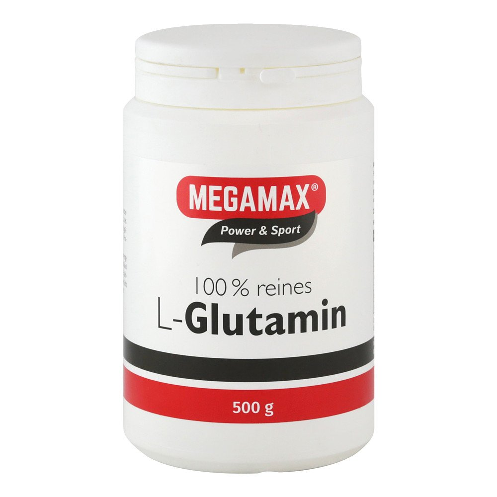 Megamax B.V. Glutamin 100% rein megamax Pulver 500 g 06705687