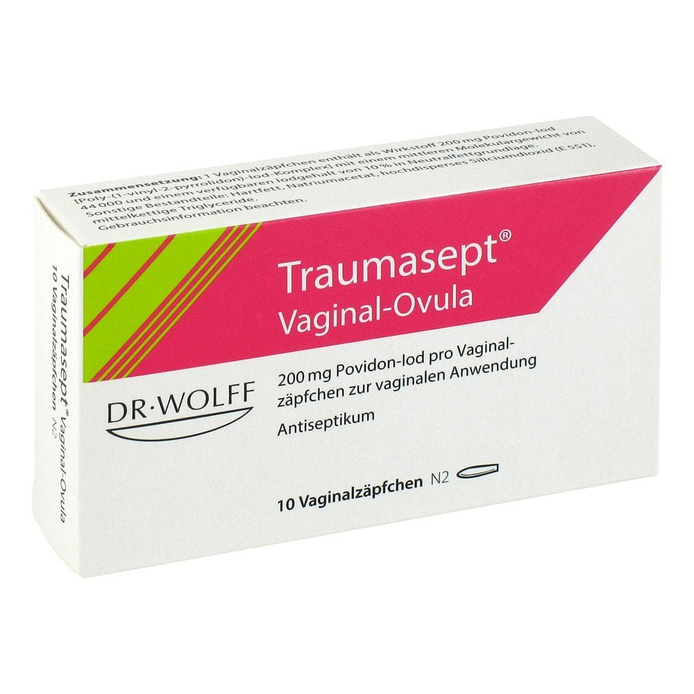 Dr. August Wolff GmbH & Co.KG Traumasept Ovula 10 stk 06887665
