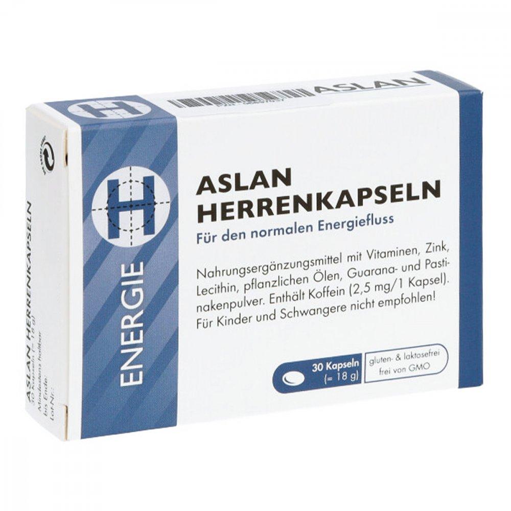 Aslan GmbH Aslan Herrenkapseln 30 stk 06897037