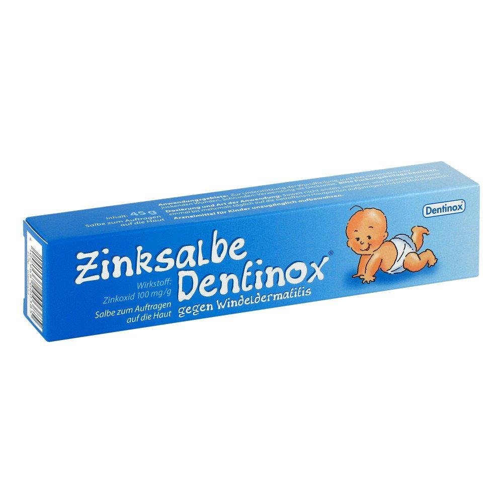 Dentinox Lenk & Schuppan KG Zinksalbe Dentinox 45 g 06966933
