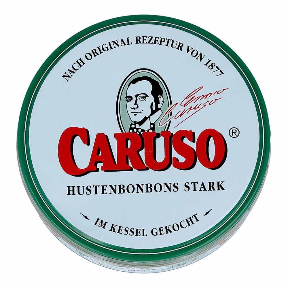 CARUSO 1877 KG Caruso Hustenbonbons stark 60 g 06973241