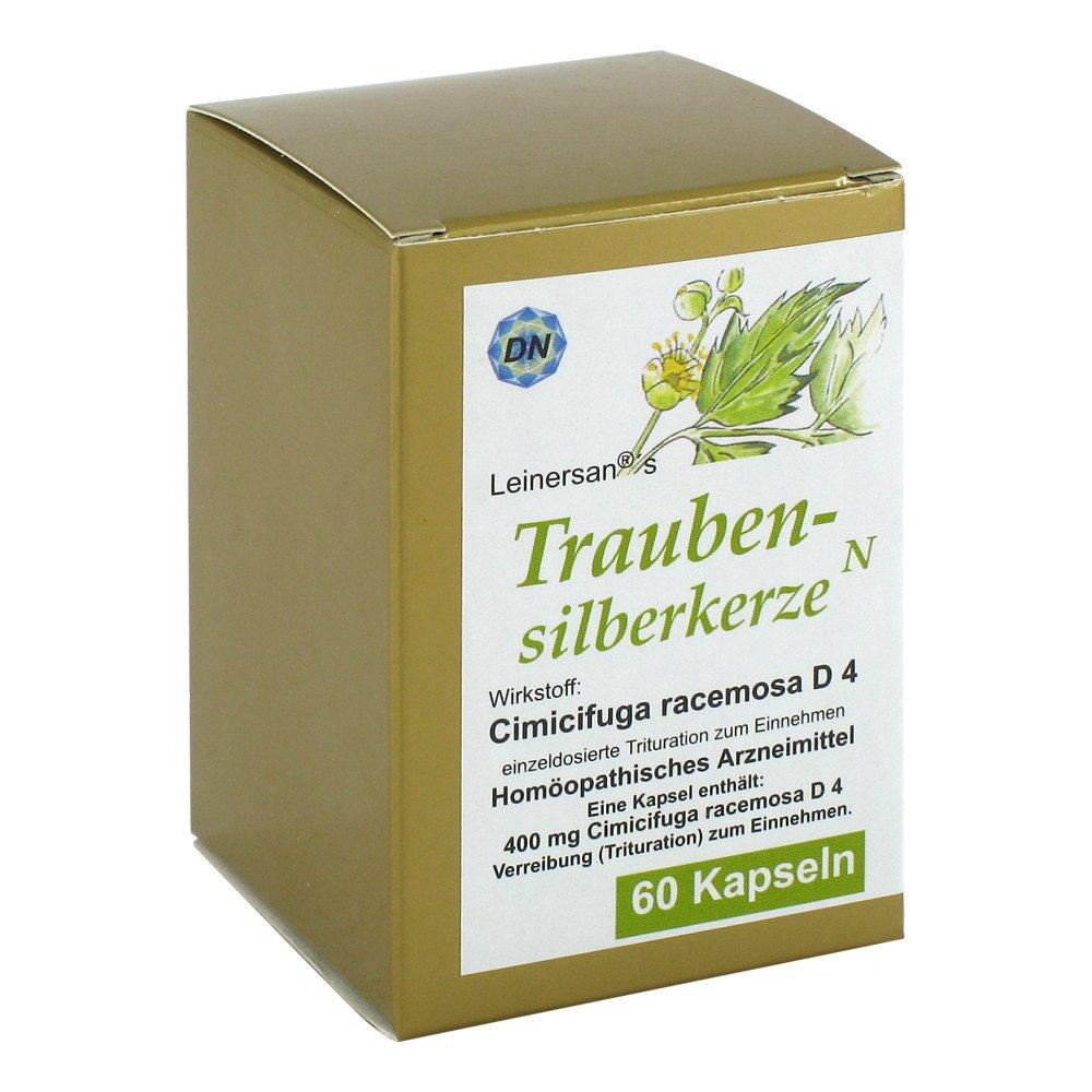 Diamant Natuur GmbH Traubensilberkerze Kapseln 60 stk 07335666