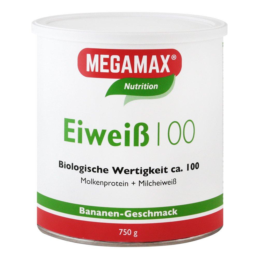 Megamax B.V. Eiweiss 100 Banane Megamax Pulver 750 g 07345877