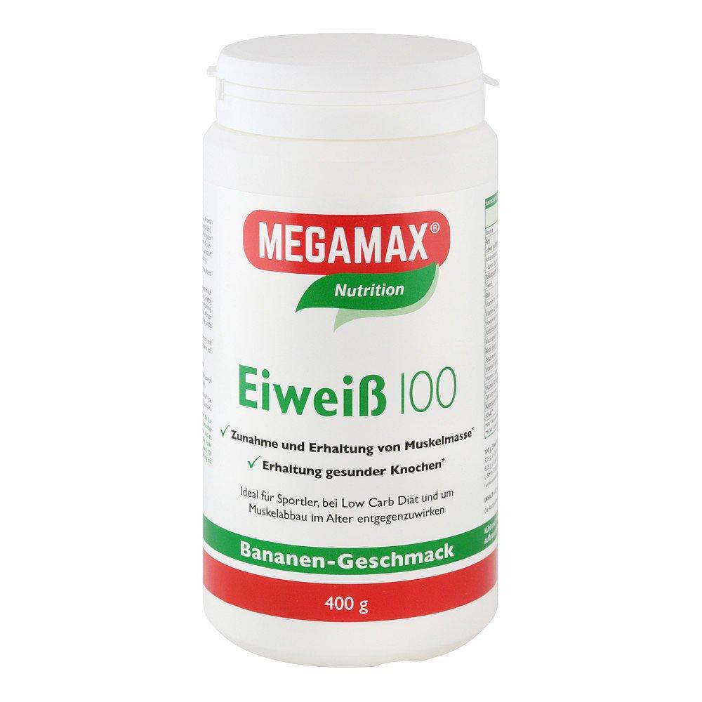 Megamax B.V. Eiweiss 100 Banane Megamax Pulver 400 g 07378173