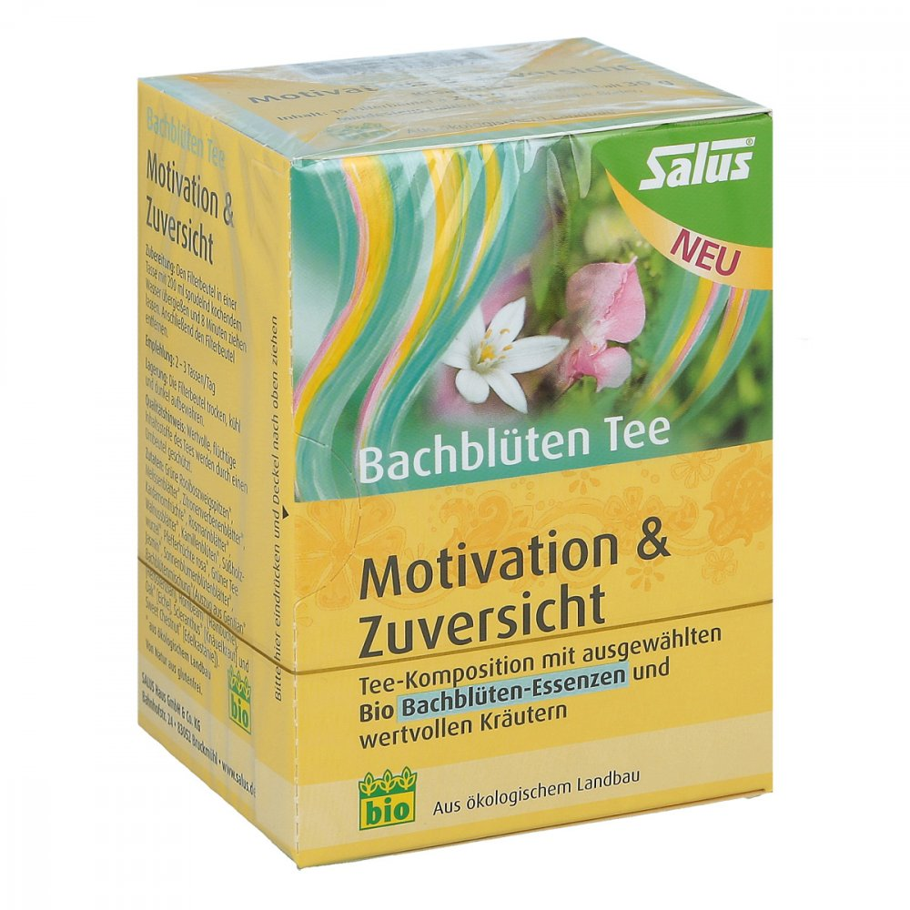 SALUS Pharma GmbH Bachblüten Tee Motivation & Zuversicht Bio Salus 15 stk 07381577