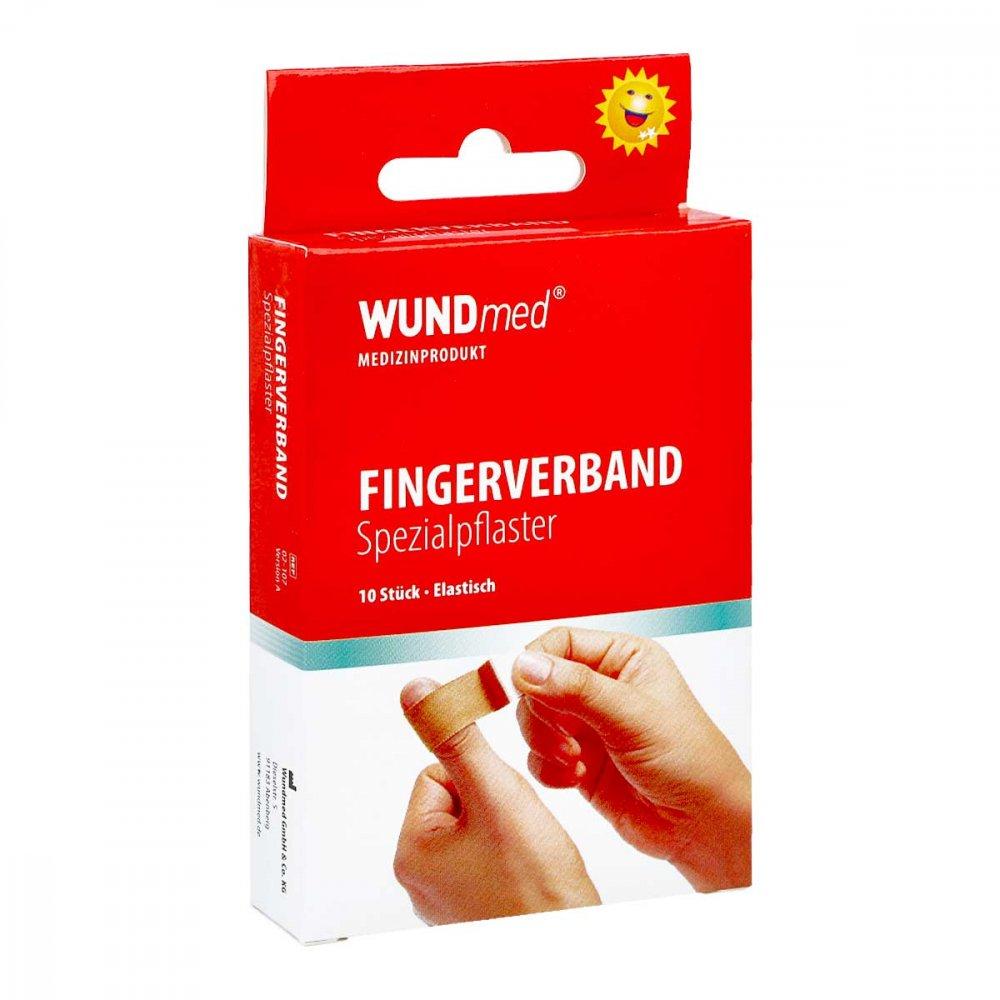 Axisis GmbH Fingerverband Spezialpflaster 2x12 cm 10 stk 07393066