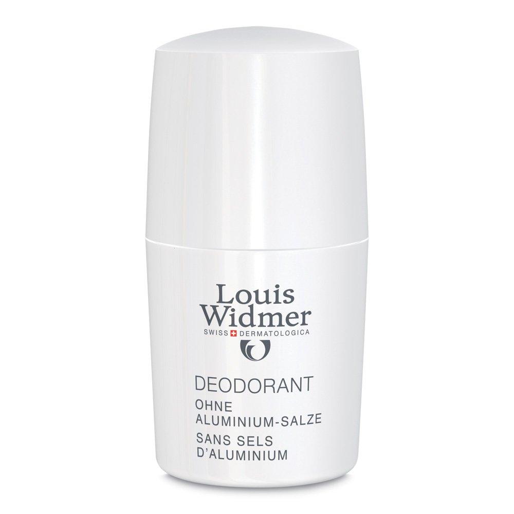 LOUIS WIDMER GmbH Widmer Deodorant ohne Aluminium Salze leicht parfümiert 50 ml 07496613