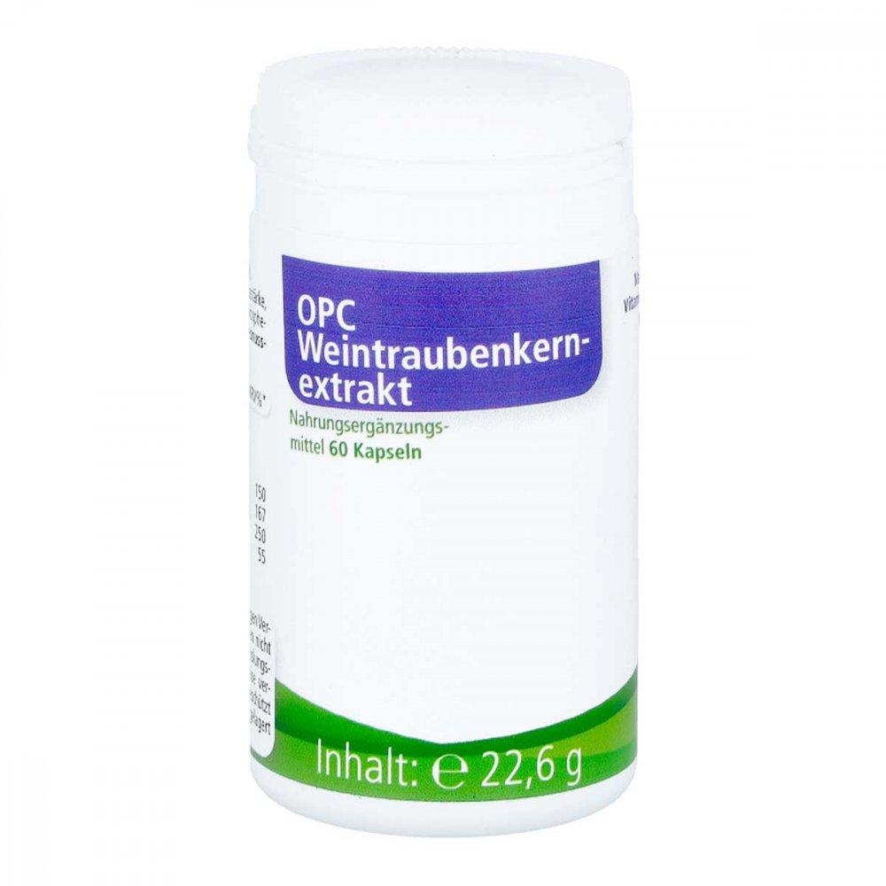 EDER Health Nutrition Opc Weintraubenkernextrakt Kapseln 60 stk 07537967