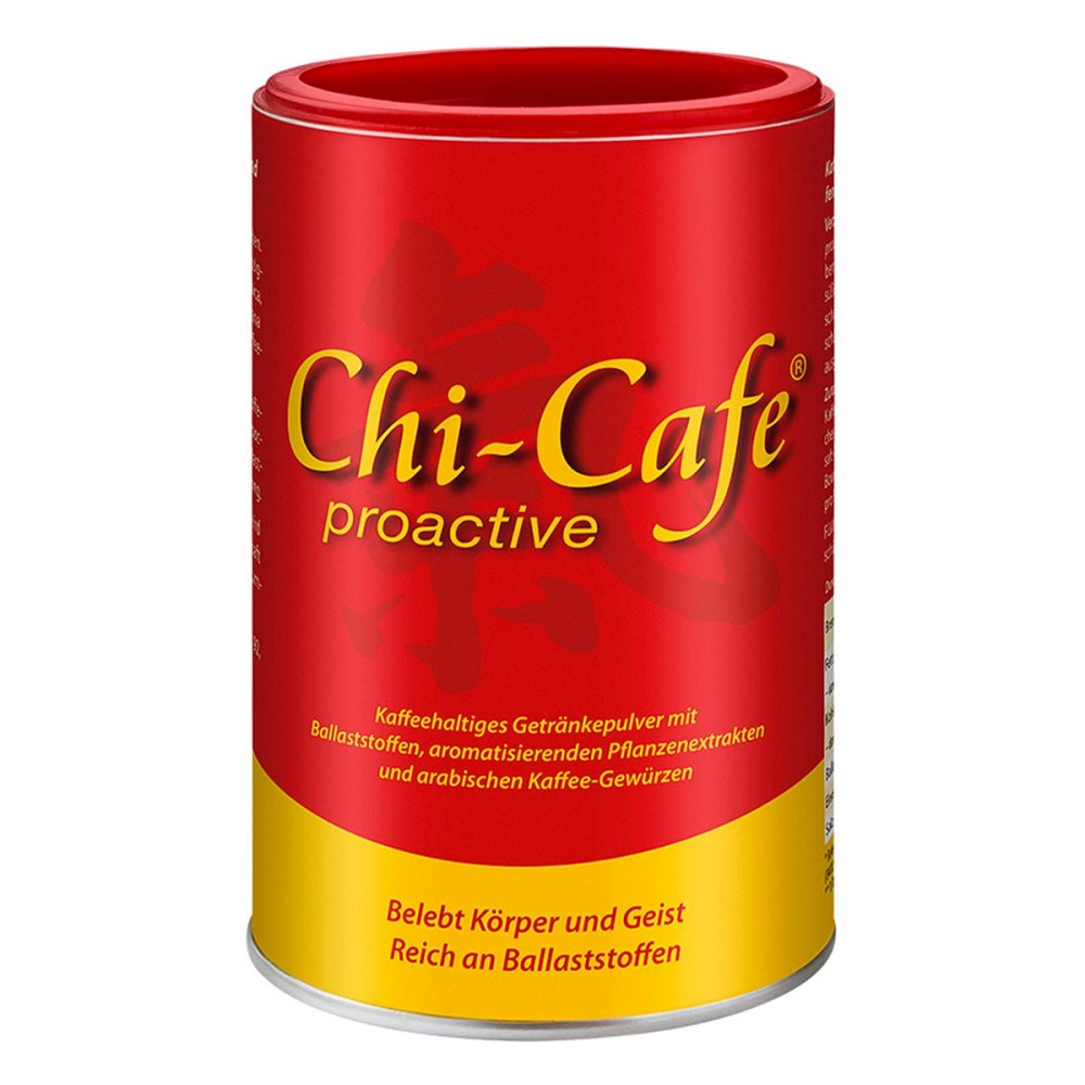 Dr.Jacobs Medical GmbH Chi-Cafe proactive Kaffee+Ballaststoffe 180 g 07580377