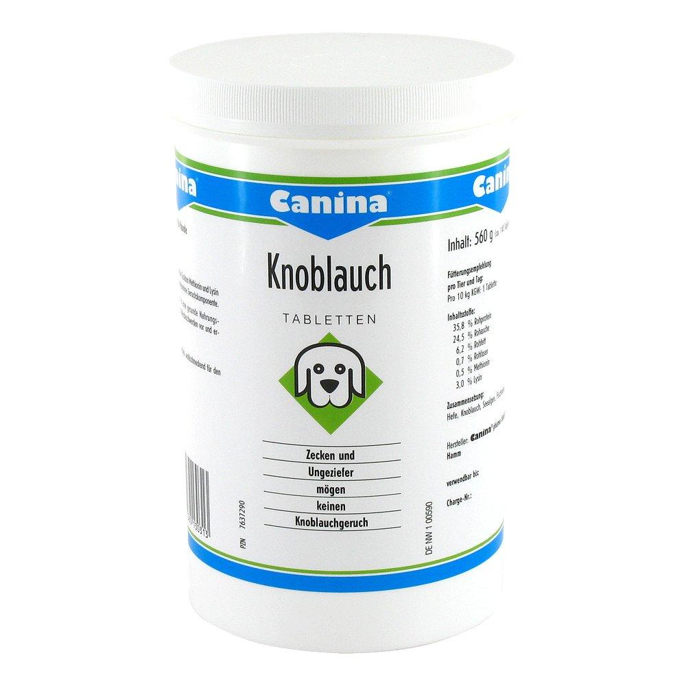 Canina pharma GmbH Canina Knoblauch Tabletten für Hunde 140 stk 07637290