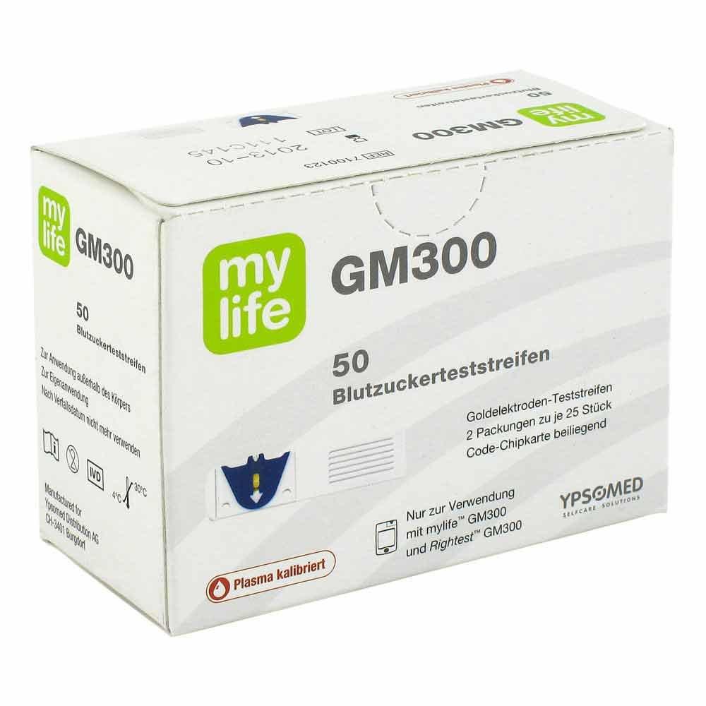 Ypsomed GmbH Mylife Gm300 Bionime Teststreifen 50 stk 07649962