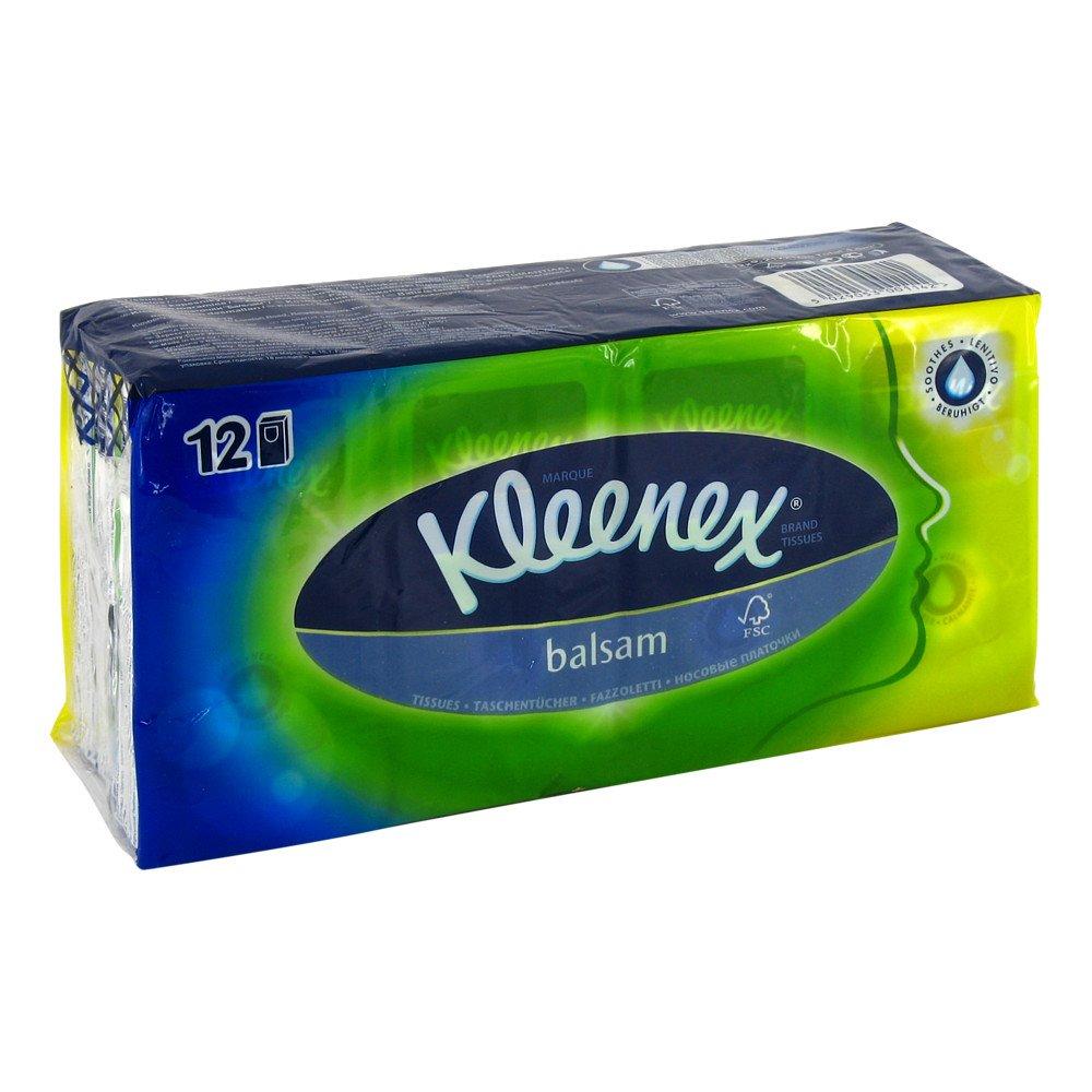 Kimberly-Clark GmbH Kleenex Balsam Taschent 12X9 stk 07691591