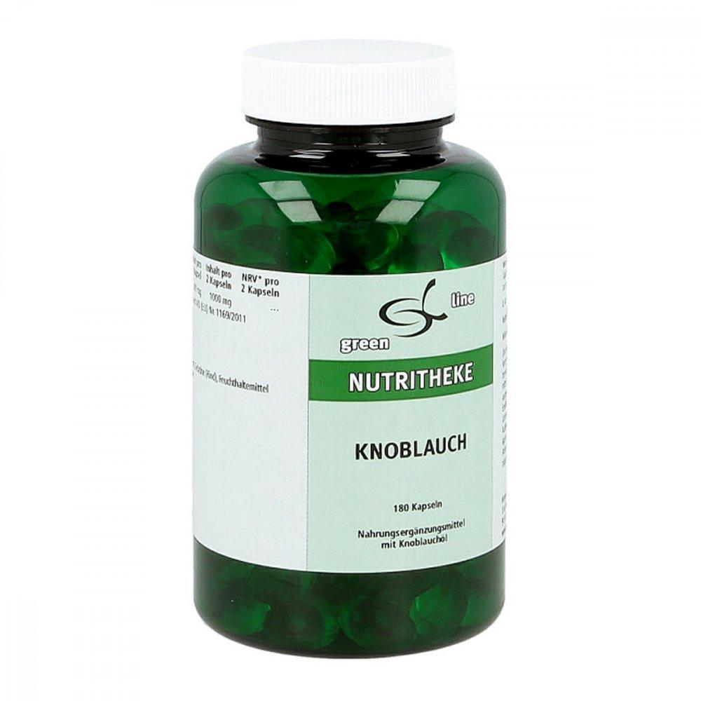 11 A Nutritheke GmbH Knoblauch Kapseln 180 stk 07749250