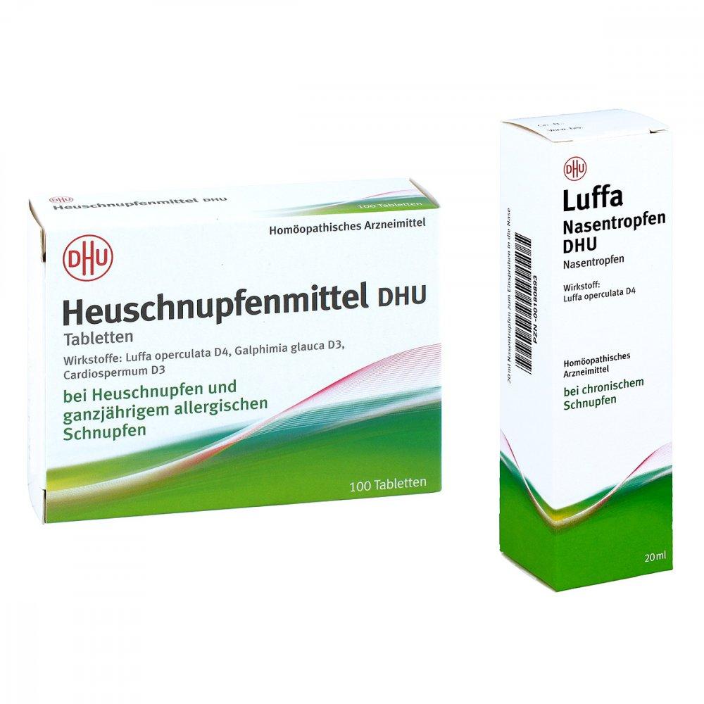 Heuschnupfenmittel - Luffa Nasentropfen DHU 08100856