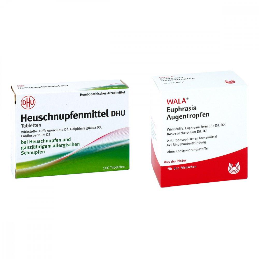 Heuschnupfenmittel DHU - Euphrasia Augentropfen 30X0.5 ml 08100857