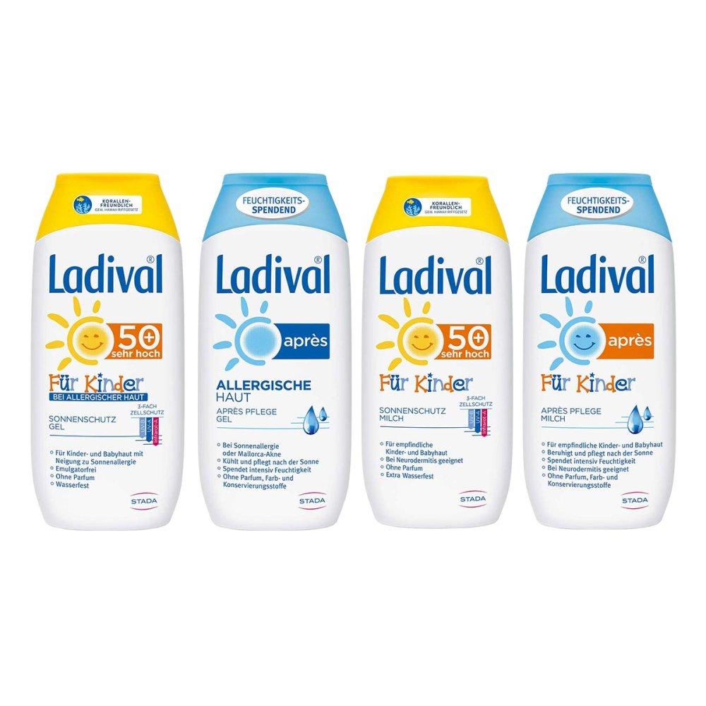 STADA GmbH Ladival-Familien-Paket Sonnenschutz und Apres 4x200 ml 08100921